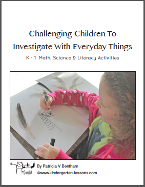 Challenging Children to Investigate with Everyday Things