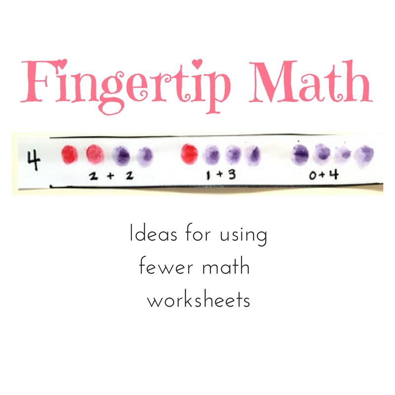 FINGERTIP MATH Kindergarten Lessons